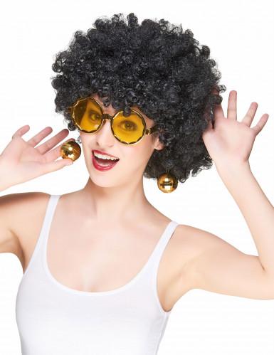 Oculos dourados disco adulto-1