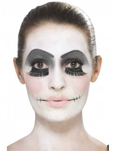 Kit maquilhagem boneca adulto Halloween-1