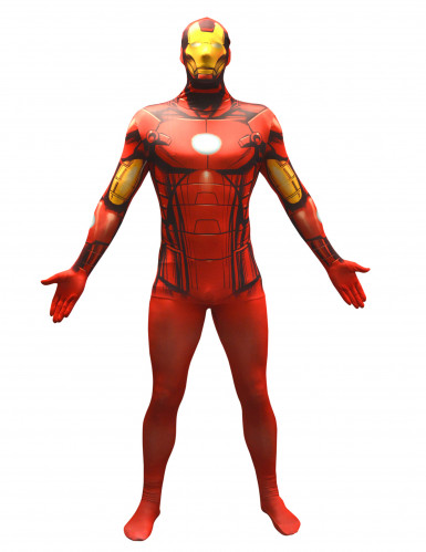 Disfarce Morphsuits™ Iron Man™ adulto