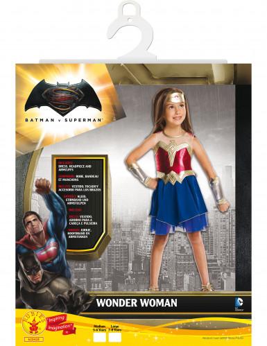 Disfarce clássico Wonder Woman™ menina - Dawn of Justice-1