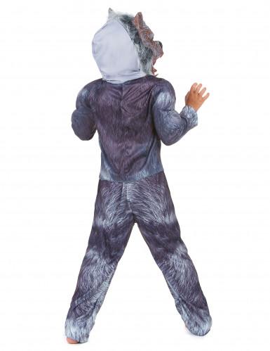 Disfarce homem-lobo criança Halloween-2