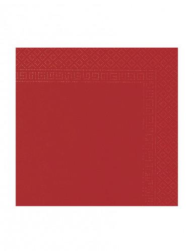 50 Guardanapos vermelhos