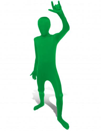 Disfarce Morphsuits™ Verde criança
