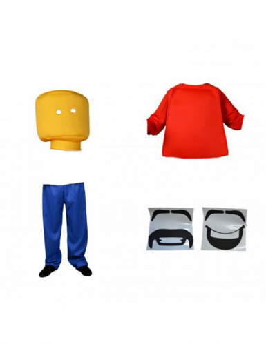 Disfarce de Lego Morphsuits™ adulto-1