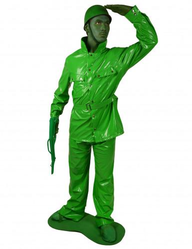Disfarce soldado verde adulto Morphsuits™