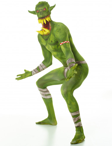 Disfarce Orc verde adulto Morphsuits™