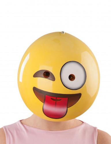 Máscara smiley careta adulto