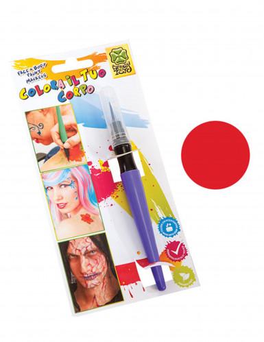 Lápis de maquilhagem vermelha