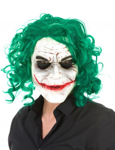 Máscara látex arlequim psicopata adulto Halloween
