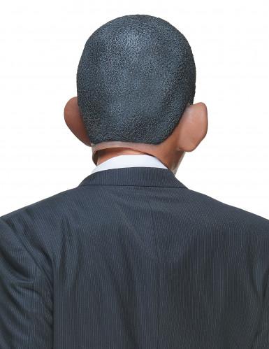 Máscara humorística de látex Barack adulto-1
