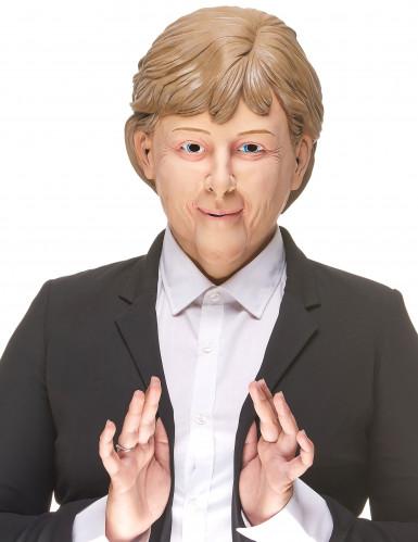 Máscara humorística de látex Angela para adulto