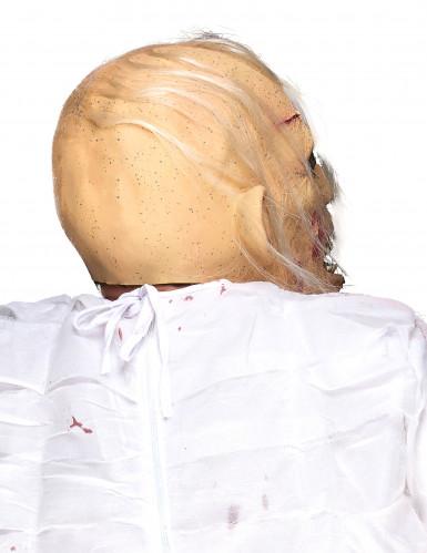 Máscara de látex idoso cadavérico adulto Halloween-1