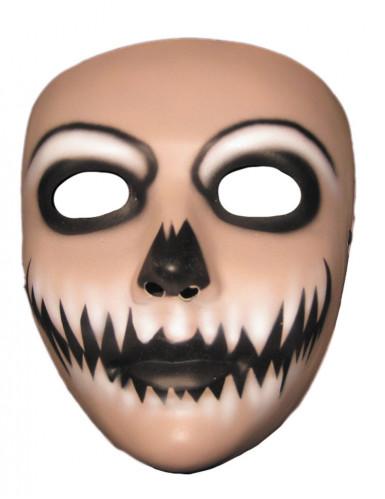 Máscara joker sorridente adulto Halloween