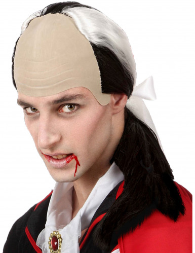 Peruca vampiro para homem