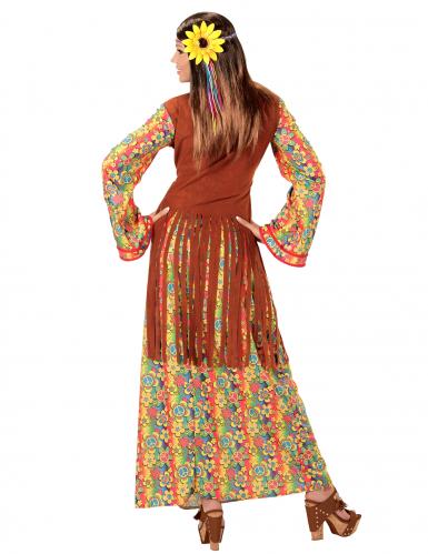 Disfarce hippie com franjas mulher-1
