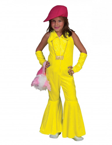 Disfarce combinação amarela fluo menina