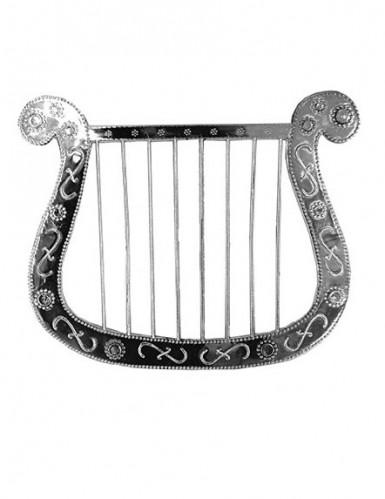 Pequena harpa prateada