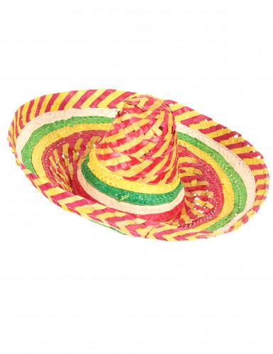 Sombrero mexicano tutti frutti adulto