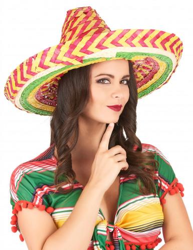 Sombrero mexicano tutti frutti adulto-2