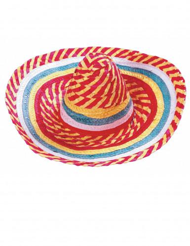 Sombrero mexicano tutti frutti adulto-1