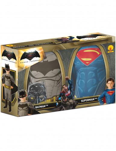 Pack 2 disfarces Batman vs Superman menino - Dawn of Justice™-1