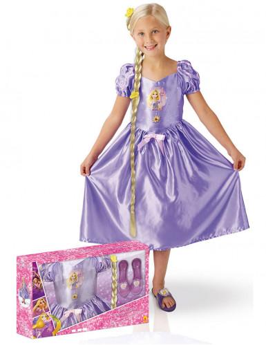 Disfarce princesa Rapunzel™ com acessórios menina