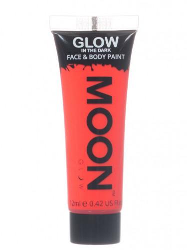 Gel rosto e corpo vermelho fluo fosforescente Moonglow©