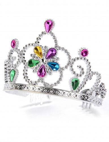 Tiara de princesa colorida adulto e criança