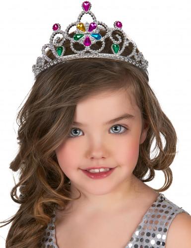 Tiara de princesa colorida adulto e criança-1