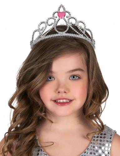 Tiara de princesa coração adulto e criança-1