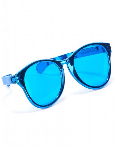 Óculos gigantes azuis adulto