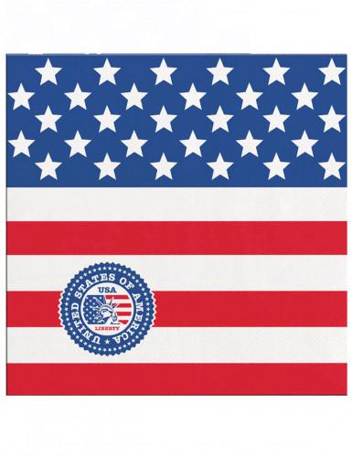 20 Guardanapos de papel USA