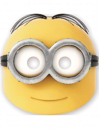 6 Máscaras de cartão Dave lovely Minions™