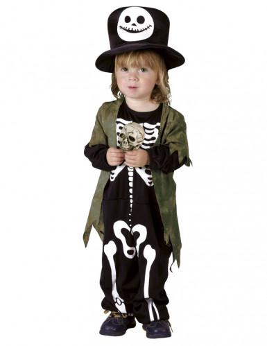 Disfarce Esqueleto da noite criança Halloween