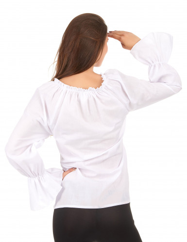 Camisa mangas compridas brancas mulher-1