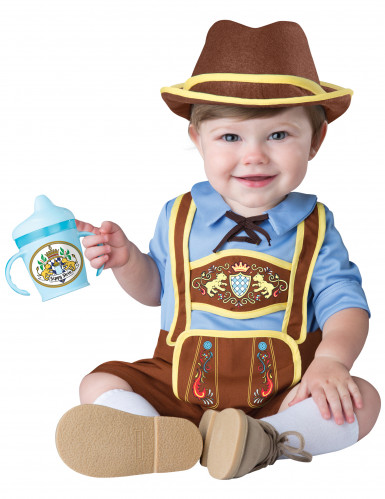 Disfarce mini bávaro para bebé - Clássico