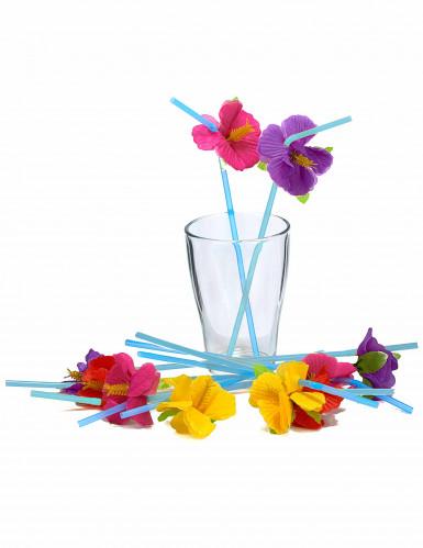 12 Palhinhas flores Havai-1