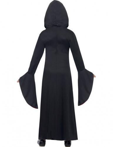 Disfarce bruxa encantadora menina Halloween-1