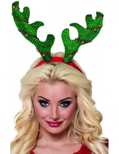 Bandolete Rena verde adulto Natal