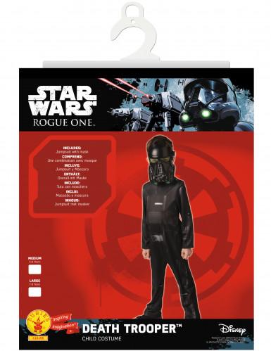 Disfarce clássico Death Trooper™ criança - Star Wars Rogue One™-1
