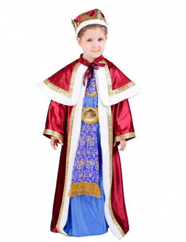 Disfarce Rei Mago Melchior menino