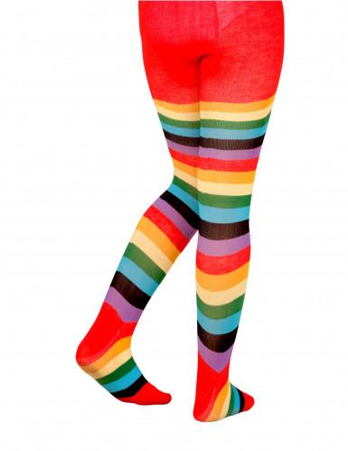Collants coloridos criança-1