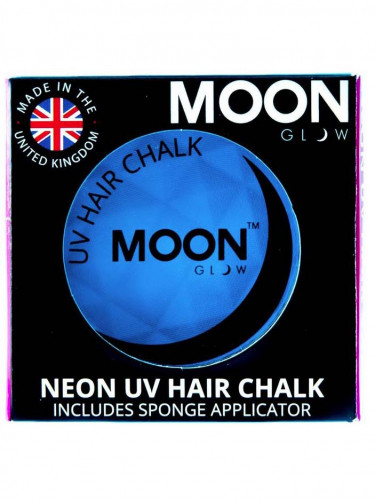 Creme para cabelo azul fluo UV 3.5 g Moonglow©
