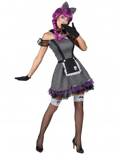 Disfarce boneca gótica mulher-1