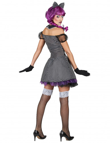 Disfarce boneca gótica mulher-2