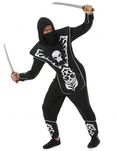 Disfarce ninja esqueleto - homem-1