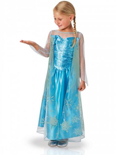 Disfarce clássico Elsa Frozen™ menina