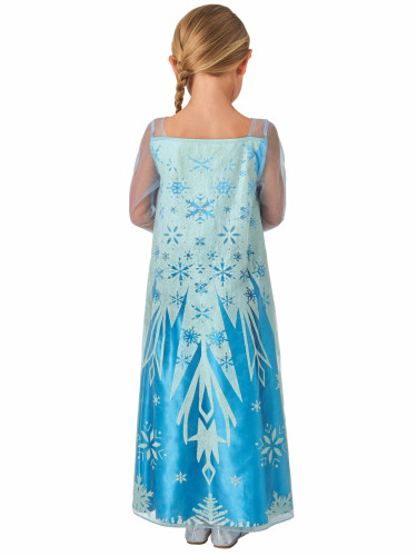 Disfarce clássico Elsa Frozen™ menina-1