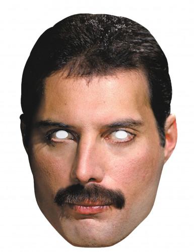 Máscara de cartão Freddie Mercury™