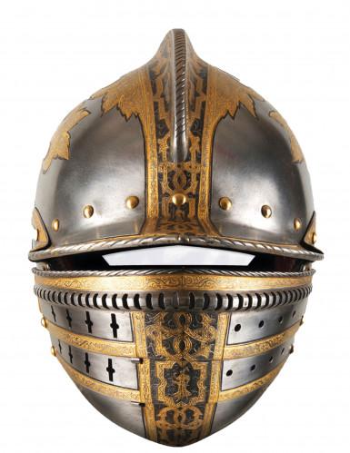 Máscara de cartão capacete medieval